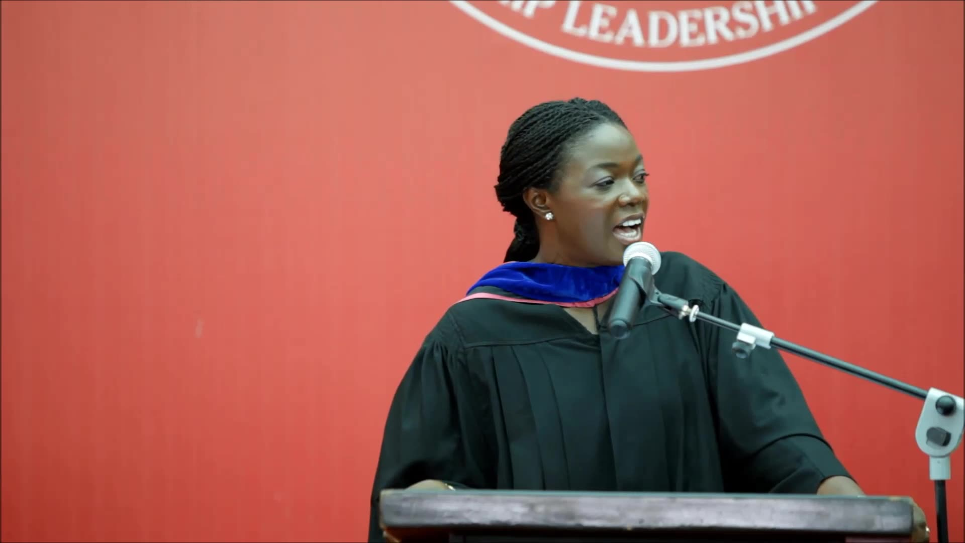 "Execute big visions to transform Africa for good,"" Lucy Quist tell Ashesi's Class of 2016"