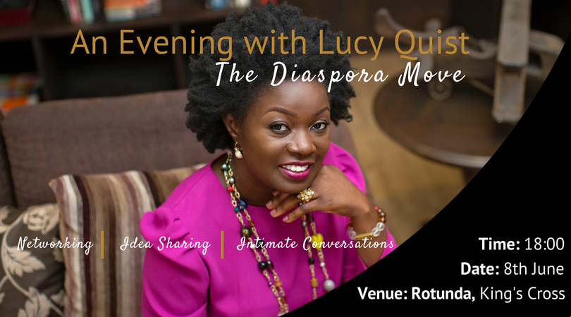 EVENT: An Evening with Lucy Quist (The Diaspora Move)